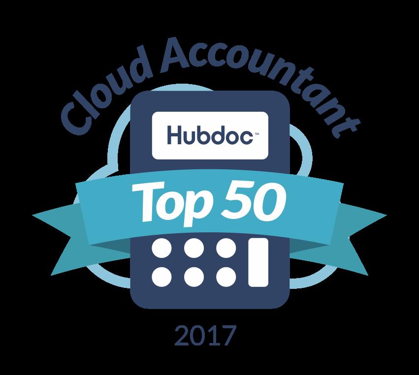 Hubdoc Top 50 Award
