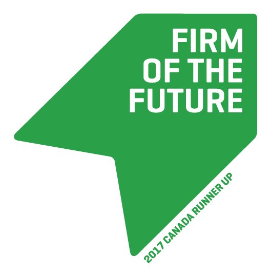 Firm of The Future 2017 - Global Runner Up